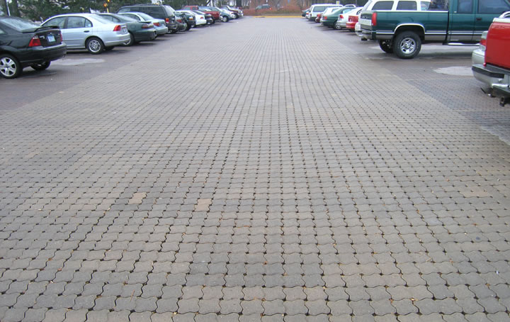 Aqua-Loc Campus Parking Lot