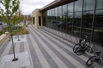 Brickstone Plaza & Bike Racks