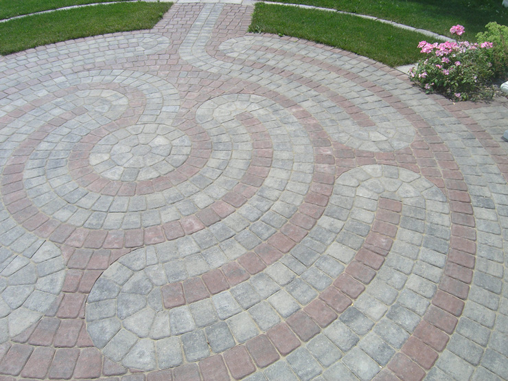 Circlestone Labyrinth Patio