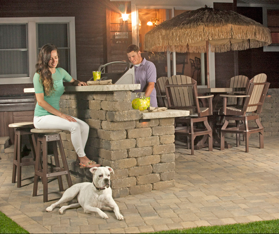 Ledgestone Bar & Grill Kit