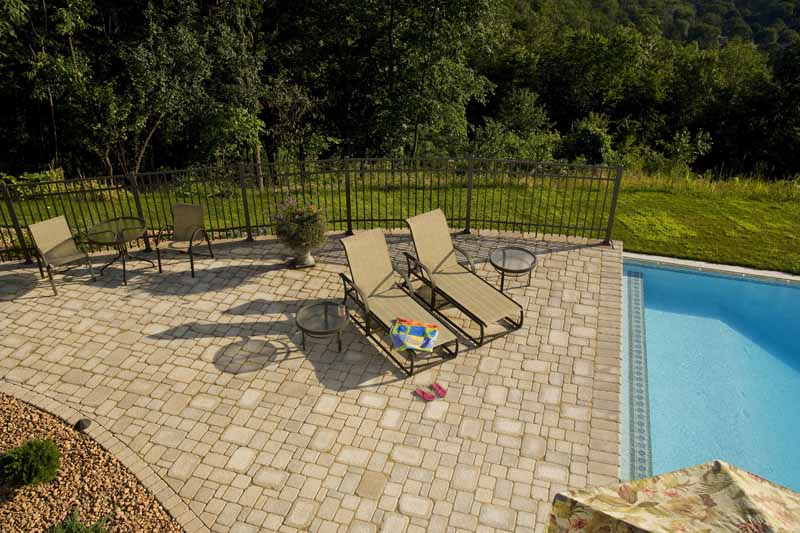 Paver Patio by the Pool
