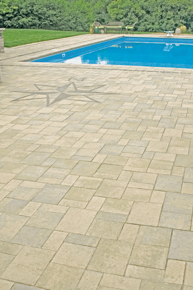 Slatestone Pool Patio
