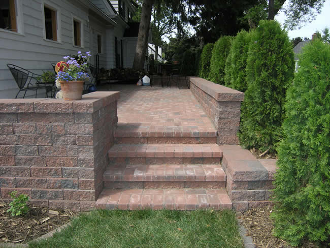 Brickstone Raised Patio