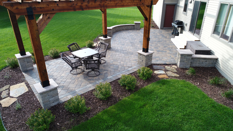 Cobblestone Patio